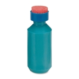 Squeeze Moistener Bottle, 2 oz. Capacity, Unbreakable, Blue by Sparco