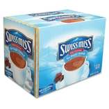 Hot Chocolate,Instant, .55 oz Packets,24/BX,No Sugar Added by Swiss Miss