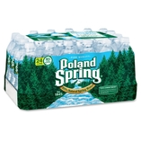 Bottles Spring Waters, Bottling/Recyc.Fees, .5 Liter, 24/CT by Nestle