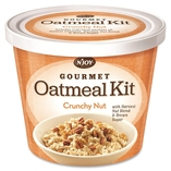 Oatmeal Cup, Individually Wrapped, Crunchy Nut, 8/CT by Njoy