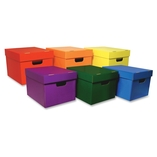 """Storage Toes, 10-1/8""""X12-1/4""""X15-1/4"""", 6/Ct, Assorted by Classroom Keepers"""