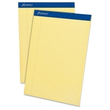 "Perforated Pad, Narrow Rule, 50 Shts/Pad,8-1/2""x11-3/4"",CY by Ampad"