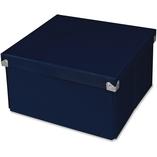 "Pop n'Store Medium Square Box - Navy Blue - 10.63""x6""x10.63"" by Samsill"