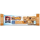 Chewy Granola Bar, Peanut Butter Chocolate Chip, 96/CT, Blue by Quaker Oats
