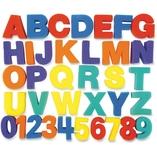 """Letters/Numbers Paint Sponges, 3"""", 36Pcs/St, Ast by ChenilleKraft"""