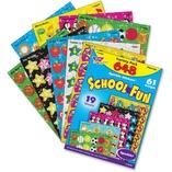 Stickers, School Fun, Variety, 648 Ea/Pk, Mi by Trend
