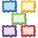 """Accents, 2-1/2""""Wx3""""Lx1/10""""H, 18 Ea/Pk, Mi by Teacher Created Resources"""