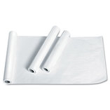 "Exam Table Paper, Deluxe Crepe, 21"" x 125ft, White, 12 Rolls/Carton by MEDLINE INDUSTRIES, INC."