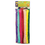 "Super Colossal Pipe Cleaners, 18"" x 1"", Metal Wire, Polyester, 24 Colors by THE CHENILLE KRAFT COMPANY"