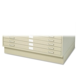 "Closed Flat File Base,f/ 4994,40-3/8""x26-5/8""x6"",Tropic Sand by Safco"