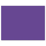 Railroad Board, 4-Ply, 22 x 28, Purple, 25 Sheets/CT by PACON CORPORATION