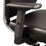 Height-Adjustable T-Pad Arms for Sol Task Chair, Nylon, Black, 2/Pair by SAFCO PRODUCTS