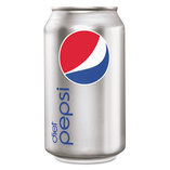 Diet Cola, 12oz Can, 24/Pack by PEPSICO