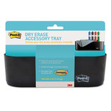 Dry Erase Tray, 8 1/2 x 3 x 5 1/4, Black by 3M/COMMERCIAL TAPE DIV.