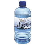 Bottled Spring Water, 20oz, 24/Carton by OFFICE SNAX, INC.