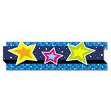 "Pop-It Border, Stars, 3"" x 24', 8 Strips/Pack by CARSON-DELLOSA PUBLISHING"