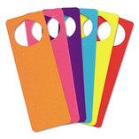 WonderFoam Door Knob Hangers, Six Assorted Colors by THE CHENILLE KRAFT COMPANY