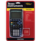 TI-83 Plus Graphing Calculator for High School Math and Science