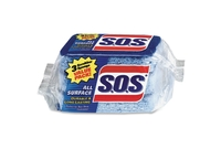 "The Clorox Company 91028 Scrubber Sponges, All Surface, 3""x5-1/4"", 3/PK, Blue by Clorox"