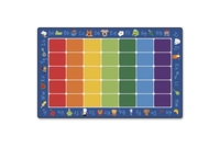 """ACCO Brands Corporation 9612 Rug,Phonics,7'6"""" X 12' by Carpets for Kids"""