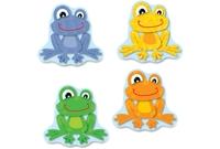 Carson-Dellosa Publishing Co., Inc 120123 Funky Frogs Cut-Outs, Prek-Gr-8, 36 Pcs, Multi by Carson-Dellosa