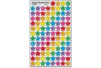 TREND ENTERPRISES, INC. 46405 Stickers, Colorful Stars, 400 Ea/Pk, Mi by Trend