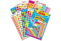 TREND ENTERPRISES, INC. 46916 Stickers, Everyday Favorites, 2500 Ea/Pk, Mi by Trend
