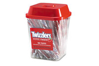 The Hershey Company 51902 Strawberry Twizzlers Licorice, Individually Wrapped, 2lb Tub by THE HERSHEY COMPANY