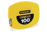 """Stanley-Bostitch Office Products 34-106 Tape Measure, 100' Long, 5-7/8""""x6-7/8""""x3/4"""", Yellow by Stanley"""