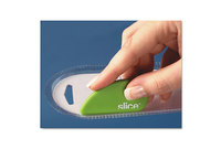 QUALITY PARK PRODUCTS 46904 Slice Safety Cutter, Ceramic Blade, Green by QUALITY PARK PRODUCTS