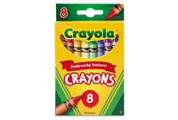 BINNEY & SMITH / CRAYOLA 523008 Classic Color Pack Crayons, 8 Colors/Box by BINNEY & SMITH / CRAYOLA