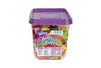 Nestle S.A 00028000941000 Wonka Assorted Flavor Laffy Taffy, 3.08lb, 145 Wrapped Pieces/Tub by NESTLE