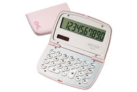 Victor Technology, LLC 909-9 909-9 Limited Edition Pink Compact Calculator, 10-Digit LCD by VICTOR TECHNOLOGIES