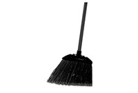 "RUBBERMAID COMMERCIAL PROD. 637400 Lobby Pro Broom, Poly Bristles, 35"" Metal Handle, Black by RUBBERMAID COMMERCIAL PROD."