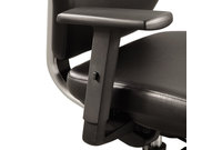Safco Products 7064BL Height-Adjustable T-Pad Arms for Sol Task Chair, Nylon, Black, 2/Pair by SAFCO PRODUCTS
