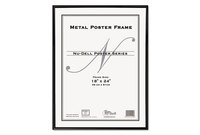 Nu-Dell Manufacturing Company, Inc 31222 Metal Poster Frame, Plastic Face, 18 x 24, Black by NU-DELL MANUFACTURING