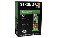 KIND Healthy Snacks 18510 STRONG and KIND Bars, Roasted Jalapeno Almond, 1.6 oz Bar, 12/Box by KIND LLC