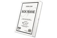 Nu-Dell Manufacturing Company, Inc 30085 Un-Frame Box Photo Frame, Plastic, 8-1/2 x 11, Clear by NU-DELL MANUFACTURING