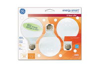 General Electric Company 85392 Compact Fluorescent Bulb, 11 Watt, G25 Globe, Soft White, 3/Pack by GENERAL ELECTRIC CO.