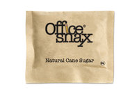 Office Snax 000063 Natural Cane Sugar, 2000 Packets/Carton by OFFICE SNAX, INC.