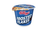 Kellogg NA Co. 01468 Breakfast Cereal, Frosted Flakes, Single-Serve 2.1oz Cup, 6/Box by KELLOGG'S
