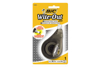 """BIC WOTRDP11 Wite-Out Redaction Tape, Non-Refillable, 1/6"""" x 314"""" by BIC CORP."""