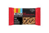 KIND Healthy Snacks 18082 Healthy Grains Bar, Dark Chocolate Chunk, 1.2 oz, 12/Box by KIND LLC