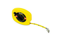 """Great Neck Saw Manufacturers, Inc 100E English Rule Measuring Tape, 3/8"""" x 100ft, Steel, Yellow by GREAT NECK SAW MFG."""