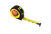 """Great Neck Saw Manufacturers, Inc 95005 ExtraMark Power Tape, 1"""" x 25ft, Steel, Yellow/Black by GREAT NECK SAW MFG."""