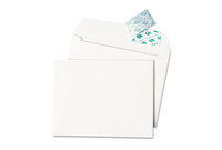 QUALITY PARK PRODUCTS 10740 Greeting Card/Invitation Envelope, Contemporary, Redi-Strip,#51/2, White,100/Box by QUALITY PARK PRODUCTS