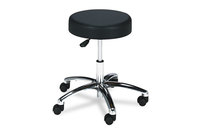 Safco Products 3431BL Pneumatic Lift Height-Adjustable Lab Stools, 17-22, Black by SAFCO PRODUCTS