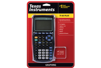 TEXAS INSTRUMENTS INC. 83PL/TBL/1L1 TI-83 Plus Graphing Calculator for High School Math and Science
