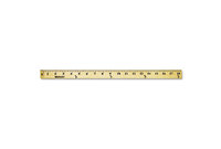 "ACME UNITED CORPORATION 10425 Wood Yardstick with Metal Ends, 36"" by ACME UNITED CORPORATION"