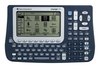 TEXAS INSTRUMENTS INC. VOY200/PWB TI Voyage 200 CAS Graphing Calculator with QWERTY Keyboard (includes TI Connectivity Kit)
